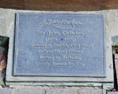 Sir John Colleton Marker image. Click for full size.