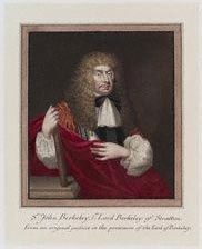 John Berkeley, 1st Baron Berkeley of Stratton<br>1602 &#8211; 28 August 1678 image. Click for full size.