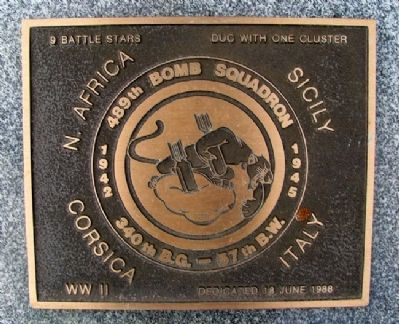 489th Bomb Squadron Marker image. Click for full size.
