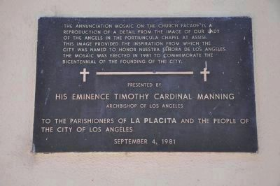 Timothy Cardinal Manning Marker (bottom right) image. Click for full size.