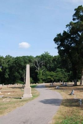 Benjamin Franklin Randolph Monument<br>Randolph Cemetery image. Click for full size.