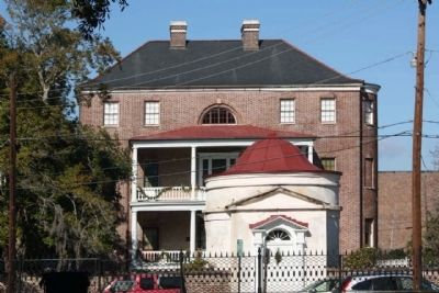 The Charleston Museum's Joseph Manigault House and Gate Temple image. Click for full size.