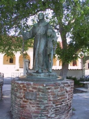 Fray Junipero Serra image. Click for full size.