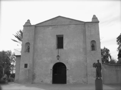 Mission San Gabriel Arcangel image. Click for full size.