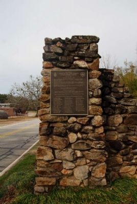 Blue Key National Honor Fraternity Gateway<br>North Marker image. Click for full size.