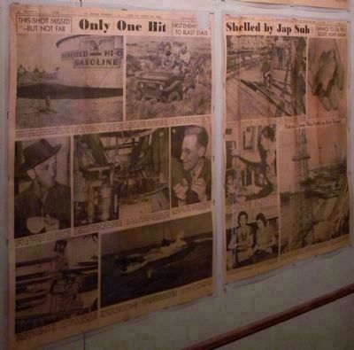 Fort MacArthur Museum: local news reporting, WWII image. Click for full size.