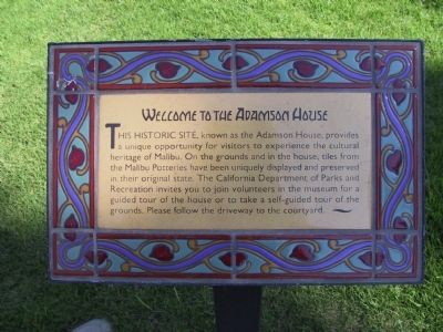 Welcome to the Adamson House image. Click for full size.