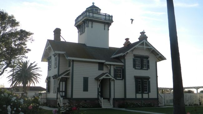 Point Fermin Light House image. Click for full size.