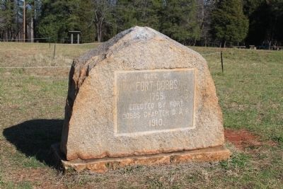Site of Fort Dobbs Marker image. Click for full size.