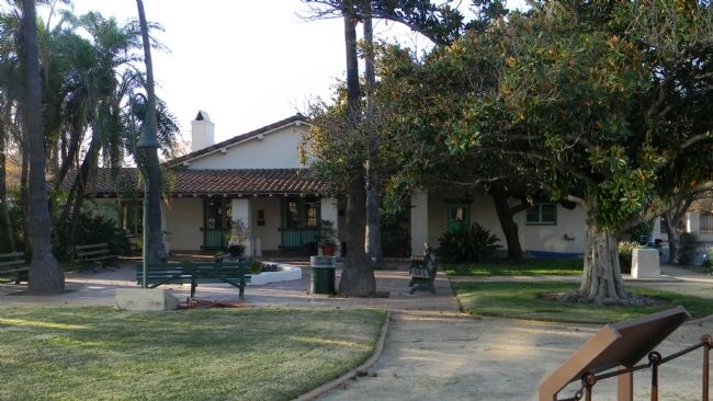 Campo de Cahuenga - Original Adobe image. Click for full size.