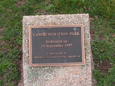 Commemoration Park Marker image. Click for full size.