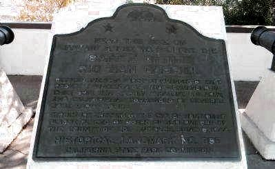 Battle of the Rio San Gabriel Marker image. Click for full size.