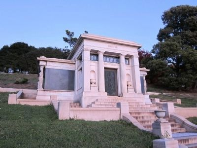 "Francis Marion ""Borax"" Smith - Family Crypt in Mountain View Cemetery in Oakland image. Click for full size."