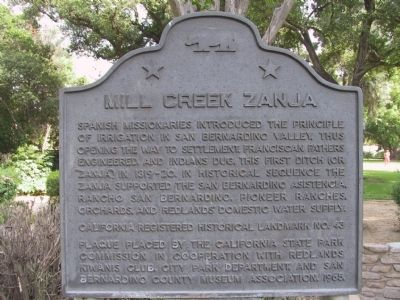 Mill Creek Zanja image. Click for full size.