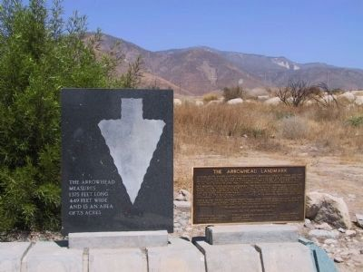 The Arrowhead Landmark Markers image. Click for full size.