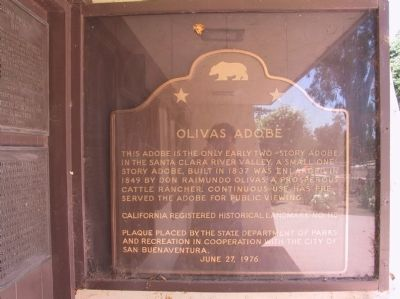 Olivas Adobe Marker image. Click for full size.