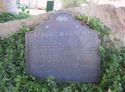 Stagecoach Inn Marker image. Click for full size.
