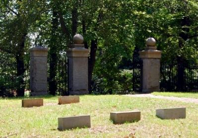 Calhoun Plantation Cemetery image. Click for full size.