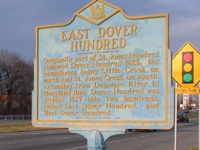 East Dover Hundred Marker image. Click for full size.