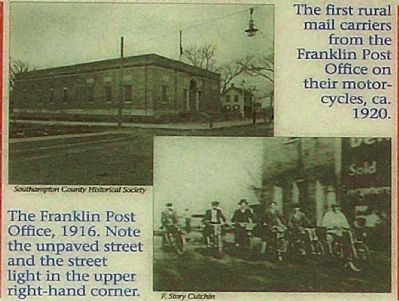 Franklin Post Office image. Click for full size.