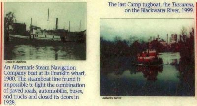 Steamer and Tug image. Click for full size.
