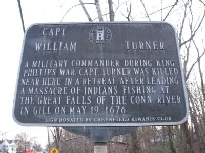 Capt. William Turner Marker image. Click for full size.