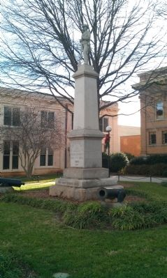 Iredell County Confederate Memorial Marker image. Click for full size.