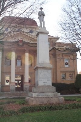 Iredell County Confederate Memorial image. Click for full size.