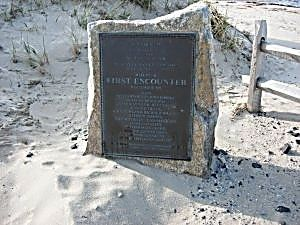 First Encounter Plaque Marker image. Click for full size.