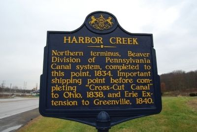 Harbor Creek Marker image. Click for full size.
