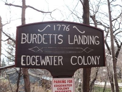 Second Burdett's Landing Marker image. Click for full size.
