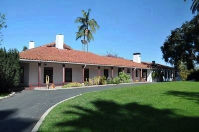 Santa Margarita Ranch House (south side) image. Click for full size.