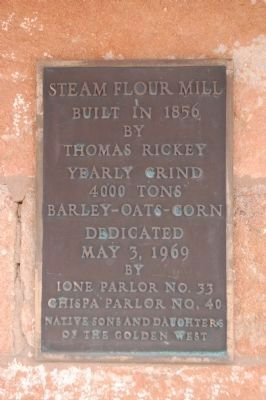 Steam Flour Mill Marker image. Click for full size.