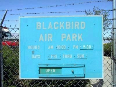 Blackbird Air Park image. Click for full size.
