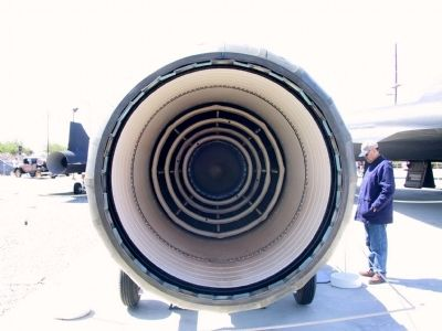 Pratt & Whitney J58 (exhaust) image. Click for full size.