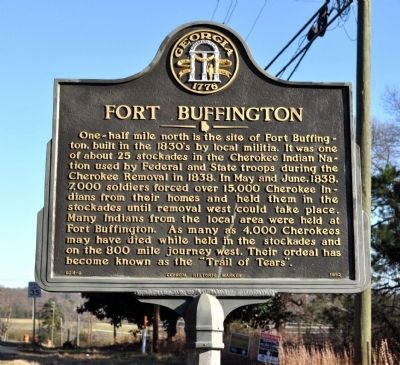 Fort Buffington Marker image. Click for full size.