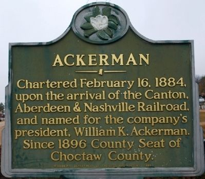 Ackerman Marker image, Touch for more information