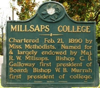 Mlilsaps College Marker image. Click for full size.