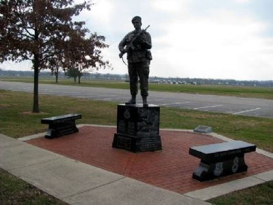 USAF Security Police Memorial image. Click for full size.