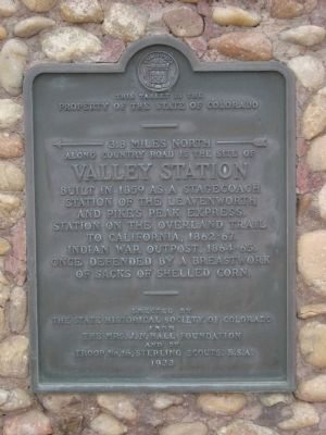 Valley Station Marker image. Click for full size.