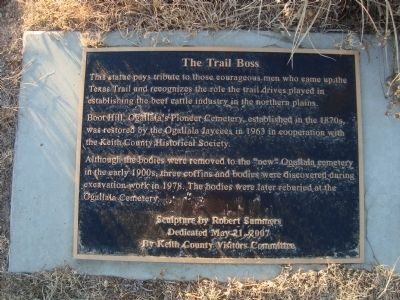 The Trail Boss Marker image. Click for full size.