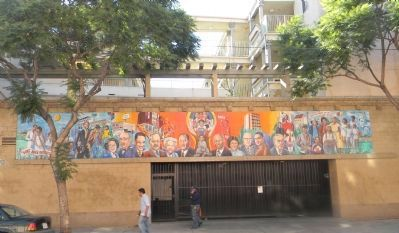 Afro-American Citizens Achievement Mural - 42nd Place at Central Avenue image. Click for full size.