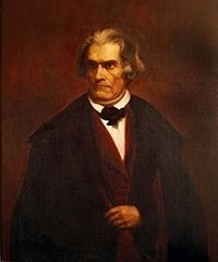 John C. Calhoun<br>March. 18, 1782 &#8211; March 31, 1850 image. Click for full size.