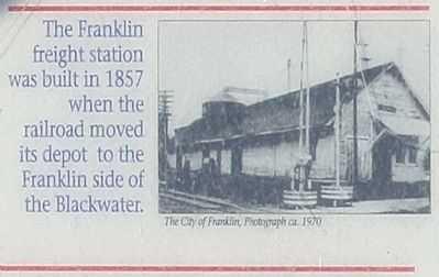 Franklin freight station, image. Click for full size.