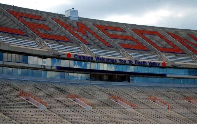 "Memorial Stadium (""Death Valley"")<br>Top Deck South Rows A-J image. Click for full size."