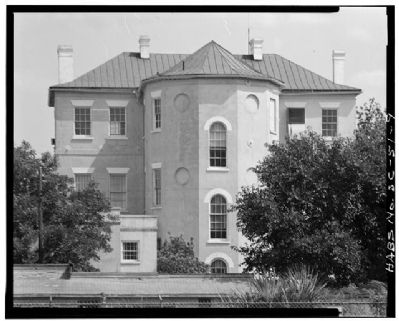 14 George Street   Middleton-Pinckey House, rear view image. Click for full size.