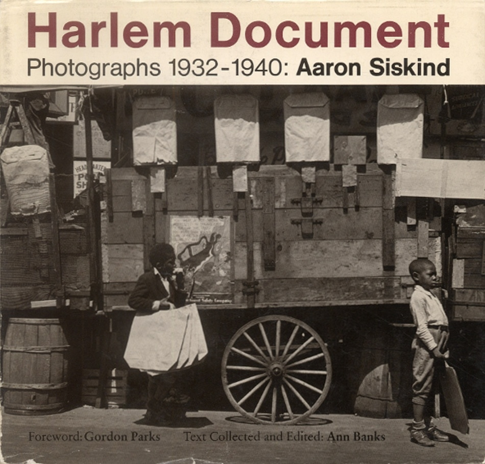 Photography Book by Aaron Siskind, c. 1930
