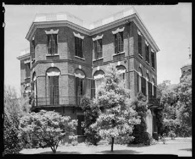 Nathaniel Russell House Southeast elevation image. Click for full size.