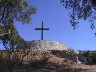 Junipero Serra's Cross image. Click for full size.