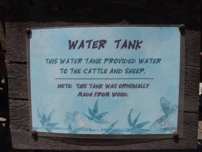 Water Tank image. Click for full size.